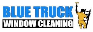 Blue Truck Window Cleaning