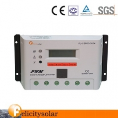 30A 12/24V auto PWM solar charge controller for solar system