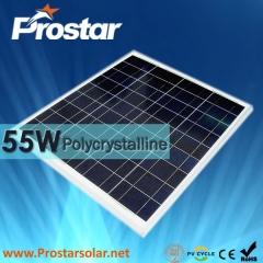 55W Poly Solar Panel
