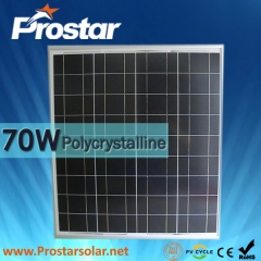 70W Poly Solar Panel