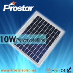 10W Poly Solar Panel
