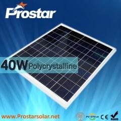 40W Poly Solar Panel