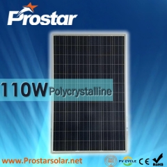 110W Poly Solar Modules