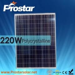 220W Poly Solar Panel