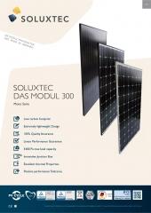 SOLUXTEC - DAS MODUL FR60 300 WP Mono Serie 300