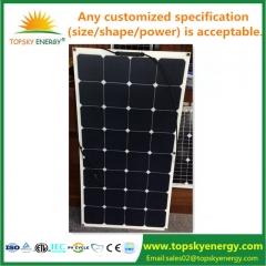mono flexible solar panel 100