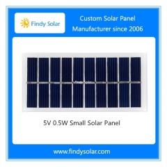 5V 0.5W Small Solar Panel , Monocrystalline