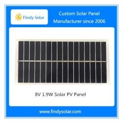 8V 1.9W Solar PV Panel, Polycrystalline