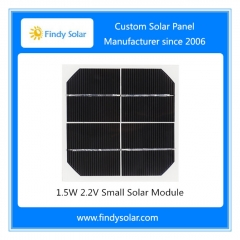 1.5W 2.2V Small Solar Module