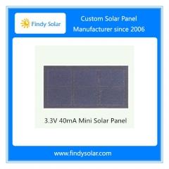 3.3V 40mA Mini Solar Panel, Sunpower solar cell