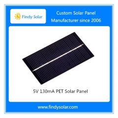 5V 130mA PET Solar Panel