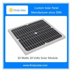 10 Watts 18 Volts Solar Module