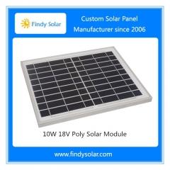 10W 18V Poly Solar Module