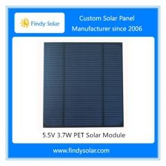 5.5V 3.7W PET Solar Module