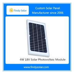 4W 18V Solar Photovoltaic Module