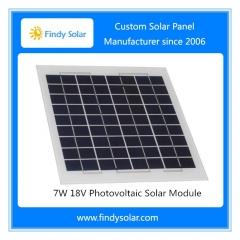 7 Watt Panel 18V for 12V Battery