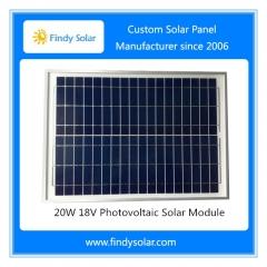 20 watt solar panel 18v for Solar/Battery Fence Energizer