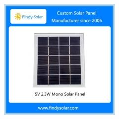 5V 2.3W Solar Panel, Monocrystalline