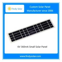 6V 360mA Small Solar Panel