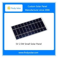 5V 2.5W Small Solar Panel, Monocrystalline