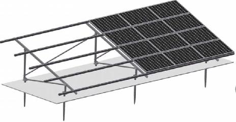 All-aluminum Ground Mounting System
