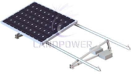 Ballasted Non-Penetrating Flat Roof Solar Mounting