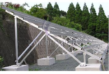 Solar Ground Mounting Systems with Ground Screw