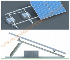 Adjustable Flat roof mounting system-Universal System