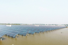 Fishing and Light Complementary Solar Mounting System