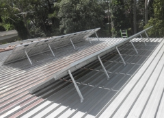 Titanergy Adjustable Tilt Solar Racking System