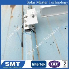 SMT-Adjustable seam roof solar mounting