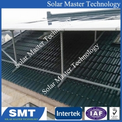 Hot Pitched Tin Roof Solar Racking