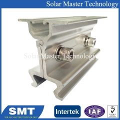 Non Rail Clamp Seam Metal Roof Mounting System for Commercial Industrial Roof