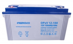 OPzV12-100(tubular gel battery)