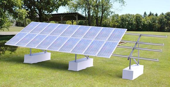 Grace Solar AL-ground mounting system