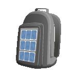 太阳能手提包