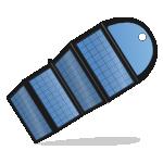 便携式可折叠电源
